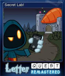 Secret Lab!