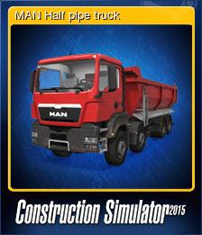 MAN Half pipe truck