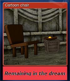 Cartoon chair