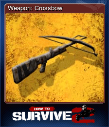 Weapon: Crossbow