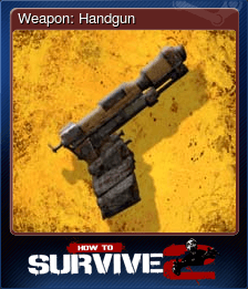 Weapon: Handgun
