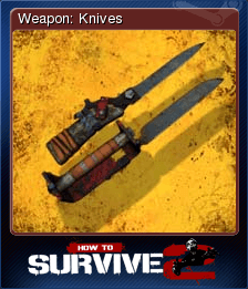 Weapon: Knives