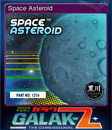 Space Asteroid
