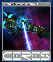 Terran Alliance destroyer