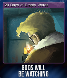20 Days of Empty Words