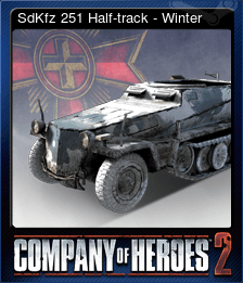 SdKfz 251 Half-track - Winter