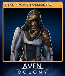 Rebel Group Representative