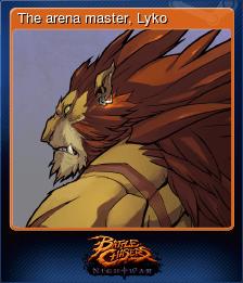 The arena master, Lyko