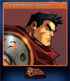 The swordsman, Garrison
