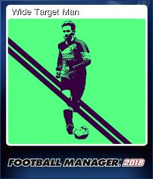 Wide Target Man