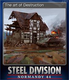 The art of Destruction