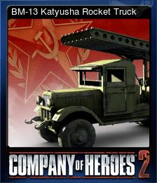 BM-13 Katyusha Rocket Truck