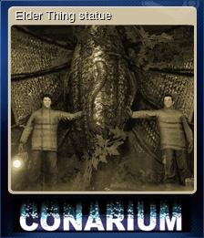 Elder Thing statue