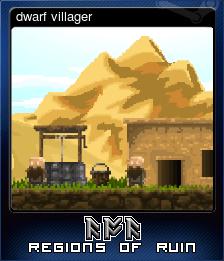 dwarf villager