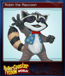 Robin the Raccoon