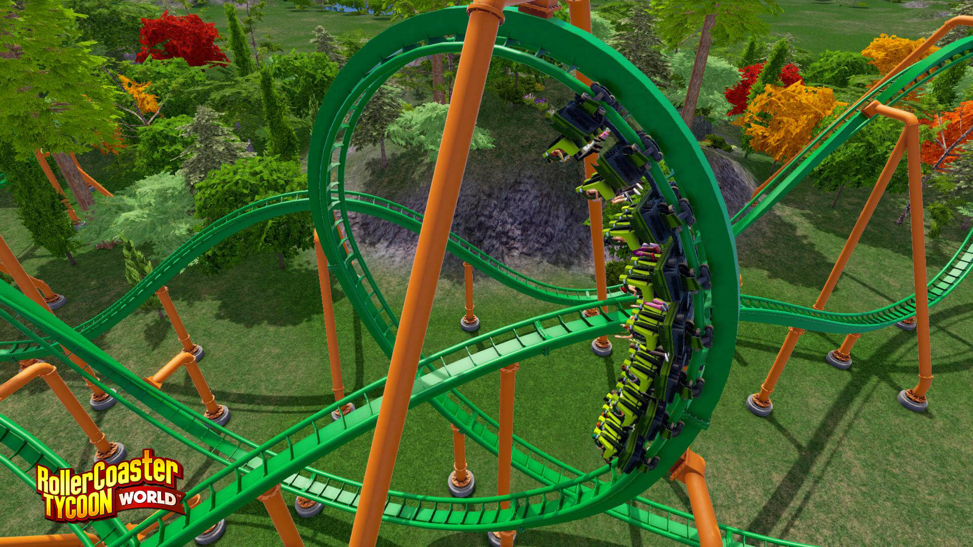 RollerCoaster Tycoon World: Deluxe Edition | Steam | Opium Pulses