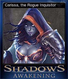 Carissa, the Rogue Inquisitor