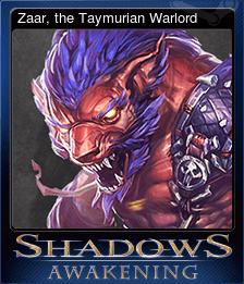 Zaar, the Taymurian Warlord