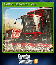 Cotton Harvester fleet