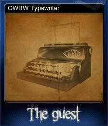 GWBW Typewriter