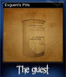 Evgueni's Pills