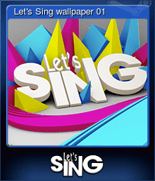 Let's Sing wallpaper 01