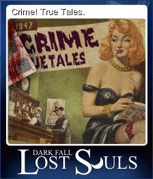 Crime! True Tales.