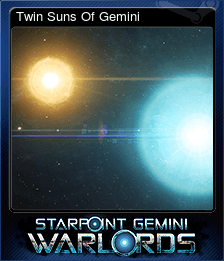 Twin Suns Of Gemini