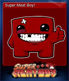 Super Meat Boy!