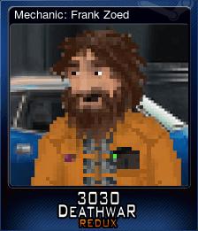 Mechanic: Frank Zoed