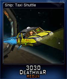 Ship: Taxi Shuttle