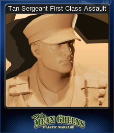 Tan Sergeant First Class Assault