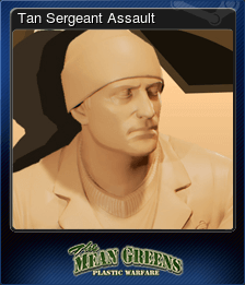Tan Sergeant Assault