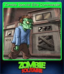 Zombie Special Elite Commander