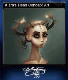 Klara's Head Concept Art