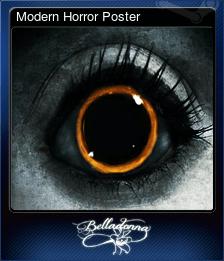 Modern Horror Poster