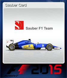 Sauber Card