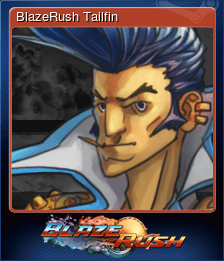 BlazeRush Tailfin