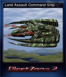 Land Assault Command Ship