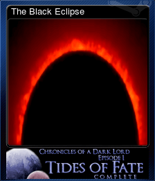 The Black Eclipse