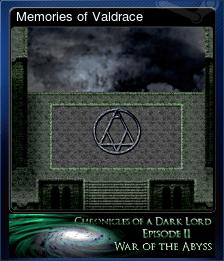 Memories of Valdrace