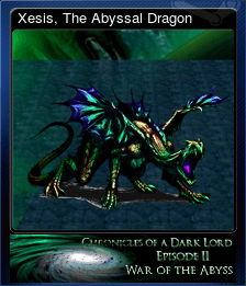 Xesis, The Abyssal Dragon