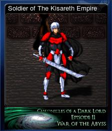 Soldier of The Kisareth Empire
