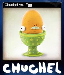 Chuchel vs. Egg