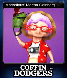 'Marvellous' Martha Goldberg