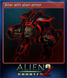 Biter with alien armor