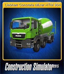 Liebherr Concrete Mixer HTM 904