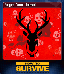 Angry Deer Helmet