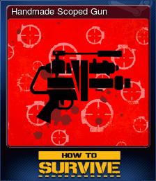 Handmade Scoped Gun