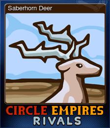Saberhorn Deer